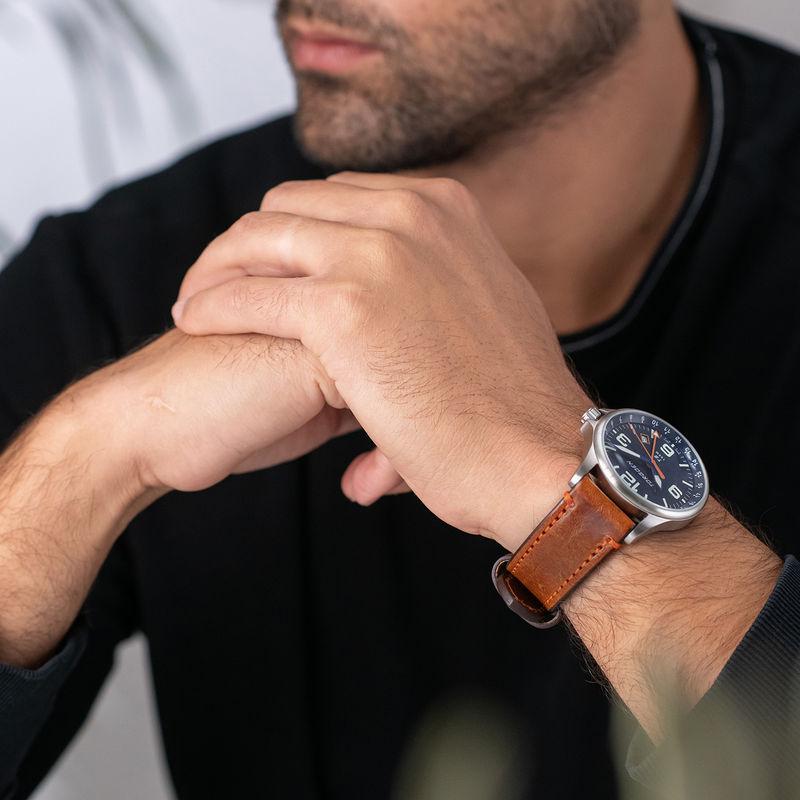 Torgoen Men's Watch T9 BLUEBIRD GMT - 1
