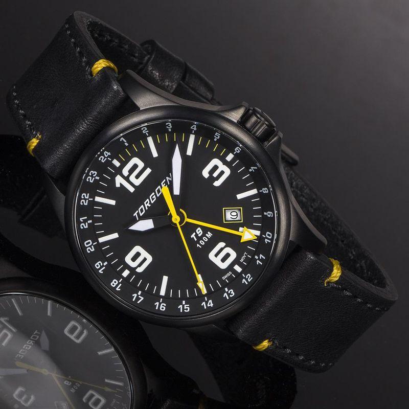 Torgoen Men's Watch T9 ORIOLE GMT - 2