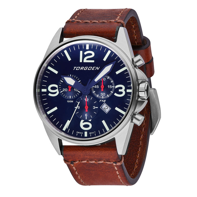Torgoen Men's Watch T16 Blue