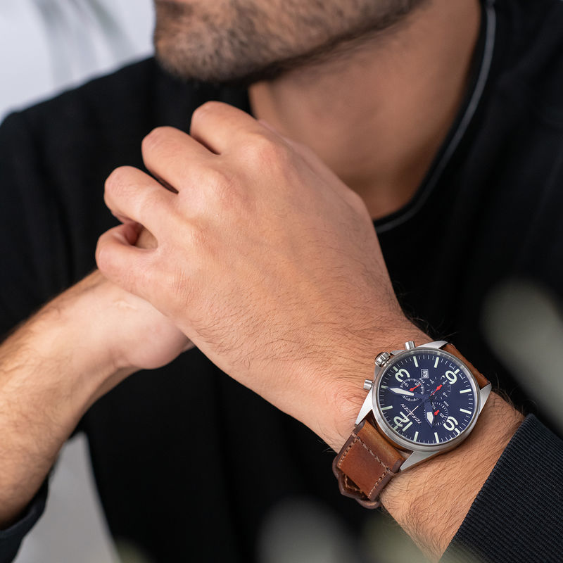 Torgoen Men's Watch T16 Blue - 1