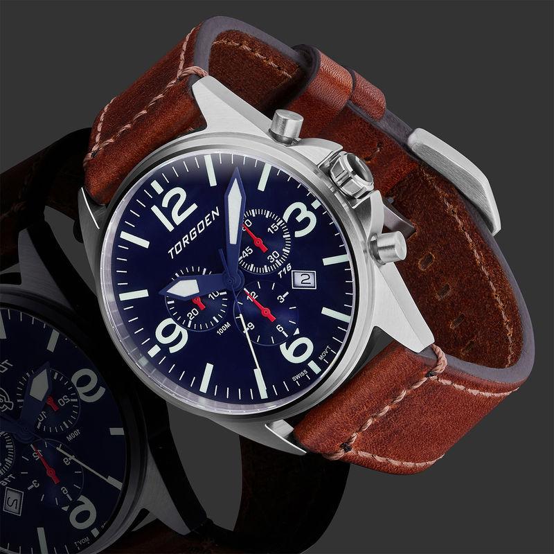 Torgoen Men's Watch T16 Blue - 2