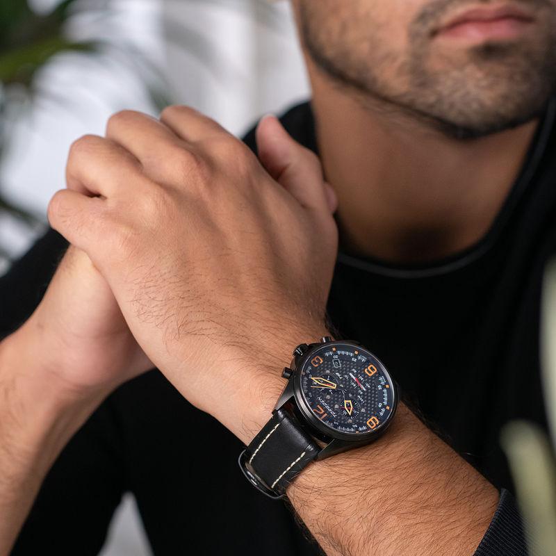 Torgoen Men's Watch T18 CARBON FIBER - 1