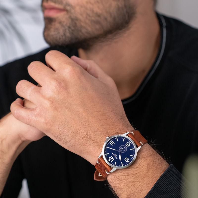 Torgoen Men's Watch T19 SLIM BLUEBIRD - 1