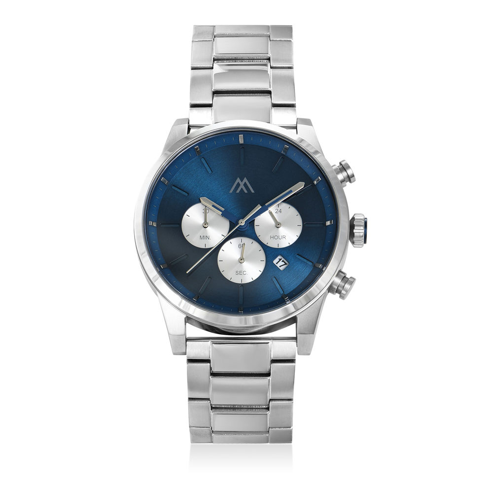 Quest Chronograph Stainless Steel Watch for Men