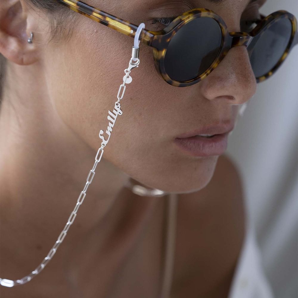 Siena Link Chain for Glasses in Sterling Silver - 1
