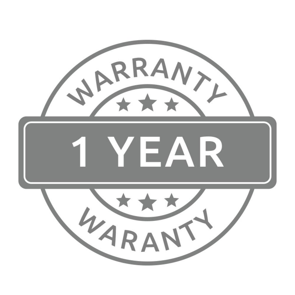 Complimentary Warranty - 1 year