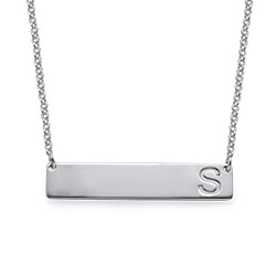 Initial Bar Necklace product photo