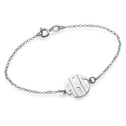XS Block Monogram Bracelet product photo