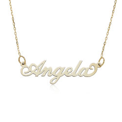 Personalized Jewelry - 10k Gold Carrie Necklace product photo