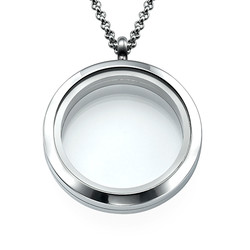 Silver Round Locket product photo