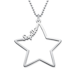 Star Name Necklace - Yours Truly Collection product photo