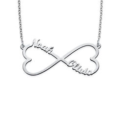 Heart Infinity Name Necklace product photo