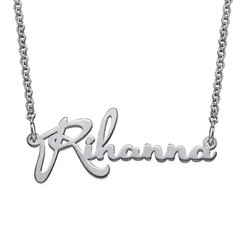 Signature Delicate Celebrity Name Necklace product photo