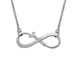 Single Name Infinity Necklace product photo