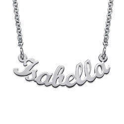 Signature Curved Name Necklace product photo