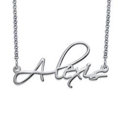 Signature Personalized Script Necklace product photo