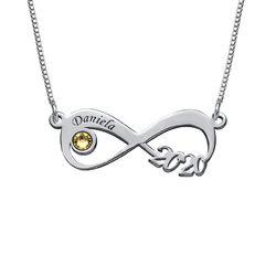 Graduation Class Necklace - Infinity Design product photo