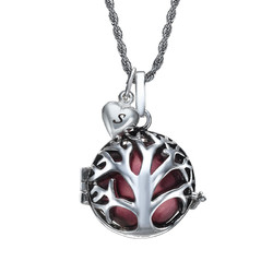 Angel Caller Necklace with Tree Shaped Cage product photo