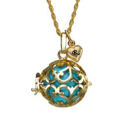 Angel Caller Necklace with Gold Plating product photo