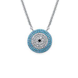 Turkish Evil Eye necklace product photo