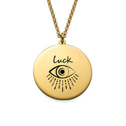 Inspirational Necklace In Gold Plating product photo
