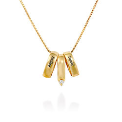 Whole Lot of Love Necklace in Gold Vermeil product photo