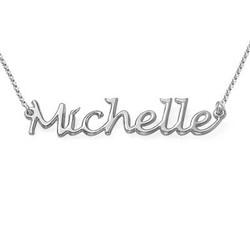 Handgeschriebener Name Halskette in Sterling Silber product photo