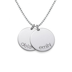 Name Disc Necklace for Kids product photo