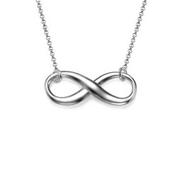 Eternity Necklace in Sterling Silver product photo