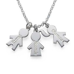 Children's Charm Necklace for Moms product photo