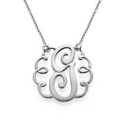 Single Initial Monogram Necklace product photo
