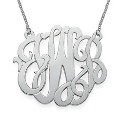 XXL Premium Monogram Necklace product photo