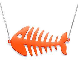 Fishbone Necklace product photo