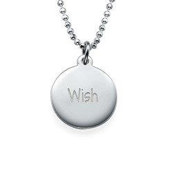 Inspirational Jewelry - Wish Necklace product photo