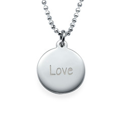 Inspirational Saying Necklace - Love product photo