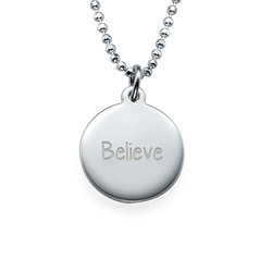 Inspirational Gifts - Believe Necklace product photo