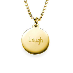 Inspirational Jewelry - Laugh Necklace product photo