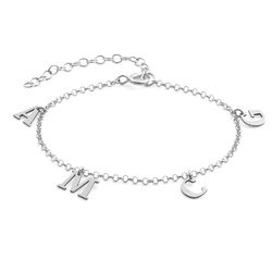 Name Bracelet in Silver product photo