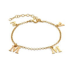 Name Bracelet in 18k Gold Vermeil product photo