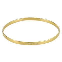 Numeral Date Bangle with 18K Gold plating product photo