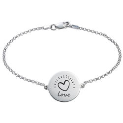 Inspirational Bracelet In Silver product photo