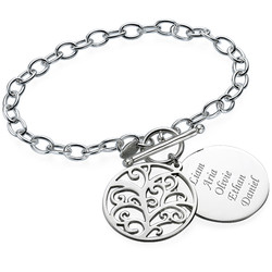 Filigree Tree of Life Bracelet product photo