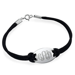 Engraved Monogram Bracelet product photo