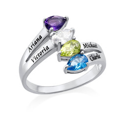 Four Stone Mothers Ring product photo