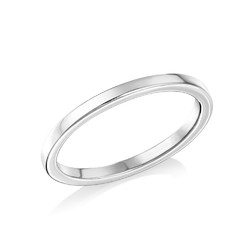 Sterling Silver Stackable Minimalist Ring product photo