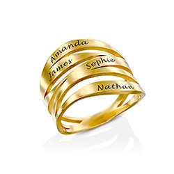 Margeaux Custom Ring in Gold Plating product photo