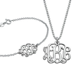 Mix & Match Monogrammed Jewelry product photo