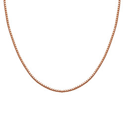 Box Chain - Rose Gold Plated product photo