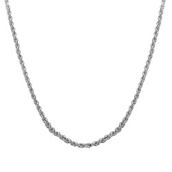 Rope Chain - Silver product photo