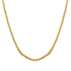 Rope Chain - Gold Plated product photo